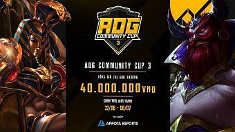 AOG – Community Cup 3 công bố danh sách bảng đấu khiến game thủ háo hức chờ đợi
