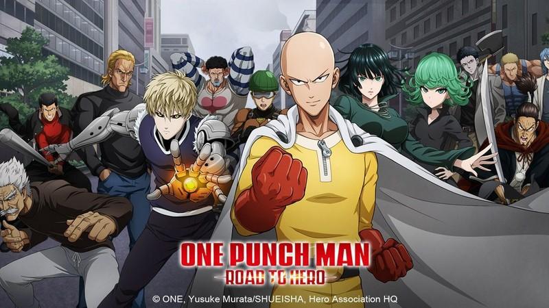 gacha rpg, oasis games, one punch man, road to hero, the strongest man, tin nước ngoài
