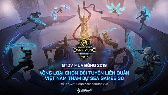 Đấu Trường Danh Vọng chính thức là vòng loại chọn tuyển Việt Nam tham gia SEA Games 30