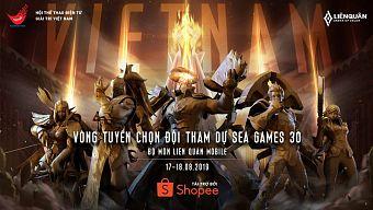 cộng đồng liên quân mobile, esports, hướng dẫn liên quân mobile, liên quân mobile, sea games 30, tải liên quân mobile, the thao dien tu