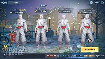 Tận mục sở thị skin Khuyển Dạ Xoa gây bão cộng đồng Survival Heroes những ngày qua