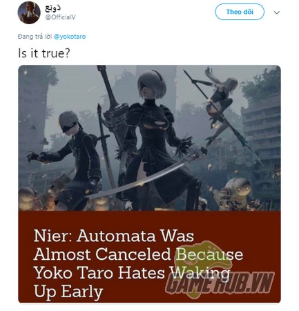 yo1 NieR: Automata - Bom tấn đình đám từng suýt chết yểu bởi nhà phát triển … ngại dậy sớm