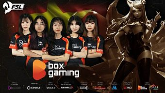 box ladies, esports, fsl, fsl lol elite 2019, liên minh huyền thoại, lmht, the thao dien tu