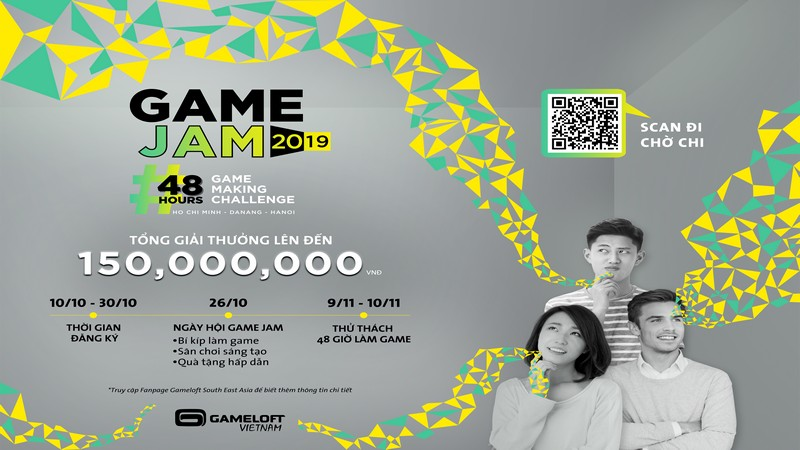 gameloft, game jam, gameloft việt nam, gameloft vietnam, game jam 2019