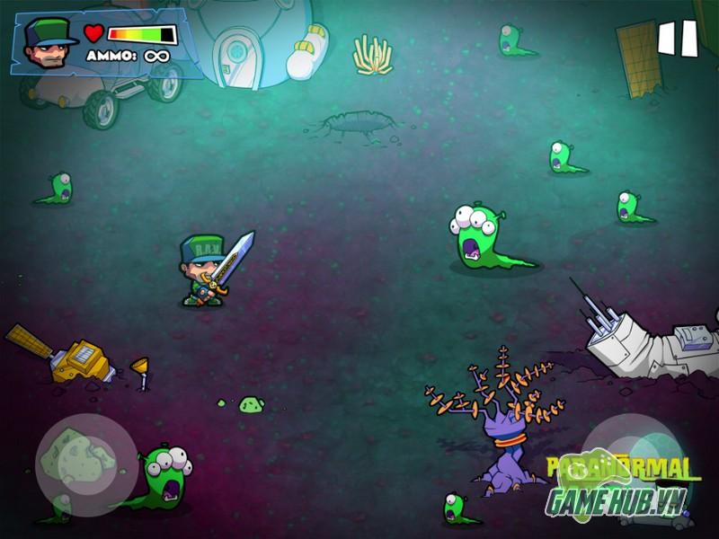 Paranormal Minis là một game hành động bắn súng mới đến từ Ravenous Games