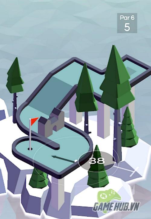 """Vista Golf - Game Mobile tưởng giải trí nhẹ nhàng mà """"nghiện"""" không tưởng"""
