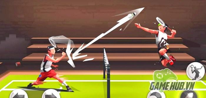 """Badminton League - Chơi Game cầu lông mà """"căng"""" như đấu súng"""