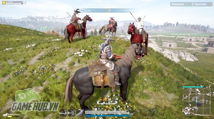 """Swordsman X Mobile - PUBG phiên bản kiếm hiệp chính thức """"hành tẩu"""" Mobile"""