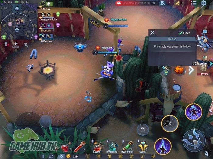 """Survival Heroes – Những mẹo nhỏ giúp game thủ sống sót trong """"vòng bo tử thần"""""""