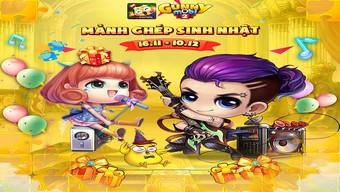 """Gunny Mobi ra mắt chuỗi mini game """"mảnh ghép sinh nhật"""""""