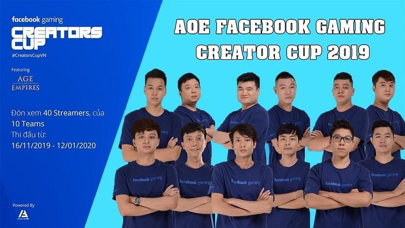 AoE Facebook Gaming Creators Cup 2019: Giải đấu 4vs4 dạng League đầu tiên trong lịch sử AoE Việt