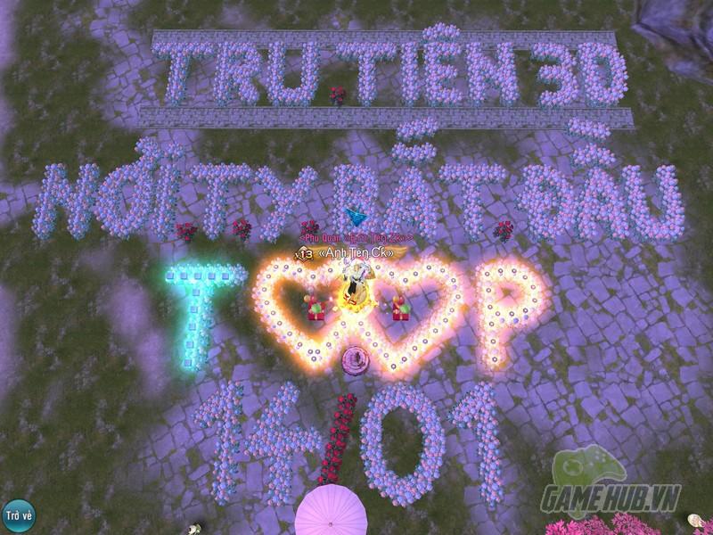 """Gamehubvn-chang-dau-nhu-tru-tien-3d-game-thu-to-tinh-cung-crush-sen-ntn-1 Chẳng ở đâu như Tru Tiên 3D, game thủ tỏ tình cùng crush """"sến"""" như thế này đây"""