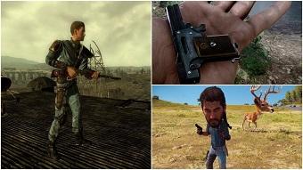 game mobile, vũ khí, game bắn súng, call of duty, game console, borderlands, gta, fallout 3, vũ khí game, doom 1993