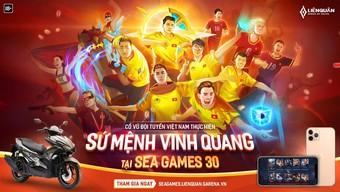 Đội tuyển Liên Quân Việt Nam ra quân tại SEA Games 30 từ 8h30 ngày 7/12