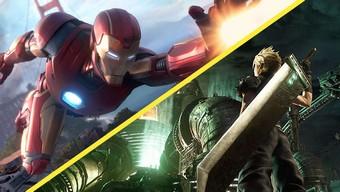 square enix, avengers, final fantasy vii remake, crystal dynamics