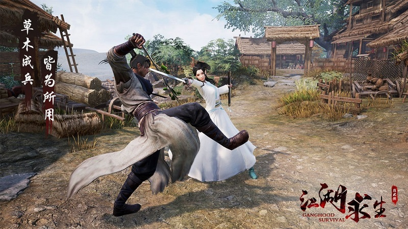 game mobile, game kiếm hiệp, game hành động, game ios, game android, tencent, game battle royale, giang hồ cầu sinh, ganghood survival mobile, game mobile 2020, game ios 2020, game android 2020, game kiếm hiệp 2020, my life of wuxia, hiệp đạo du ca