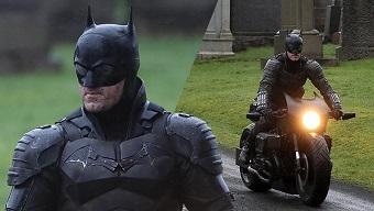 Lộ ảnh hậu trường giới thiệu toàn cảnh bộ suit của Batman trong phim mới