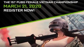 esports, nữ game thủ, game thủ nữ, pubg, hướng dẫn pubg, cộng đồng pubg, giải đấu pubg, asus rog, the 1st pubg female vietnam championship, nvida, asus republic of gamers