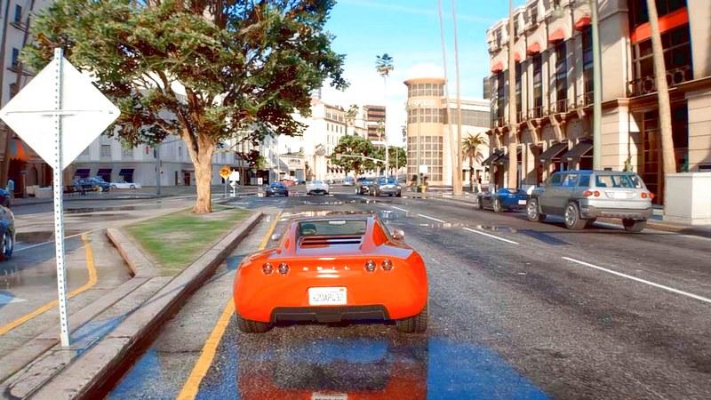 GTA 5 - Trải nghiệm Mod đồ họa siêu...
