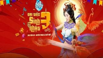 """Hé lộ quà tặng """"khủng"""" tại Big Offline Sài Gòn 18/7 mừng sinh nhật Tru Tiên 3D"""