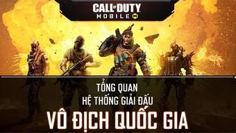 VNG công bố giải Vô Địch Quốc Gia của Call of Duty: Mobile VN