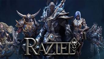 raziel: dungeon arena, lối chơi chặt chém, rpg hành động, arpg chất lượng aaa