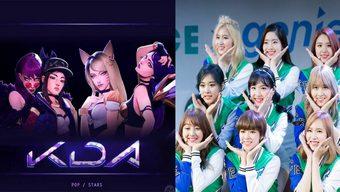 lien minh huyen thoai, liên minh huyền thoại, lmht, k-pop, kpop, liên minh, riot game, riot, ca sĩ, nhóm nhạc hàn quốc, twice, k/da, nhóm nhạc nữ