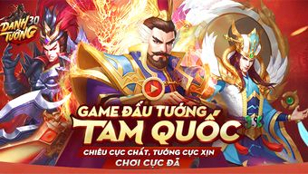 game chiến thuật, vng, game 3q, game ios, game android, game tam quốc, game tam quốc mobile, game danh tướng 3q