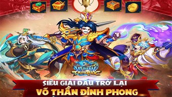 Võ Thần Tam Quốc: Giải đấu Võ Thần Đỉnh Phong mùa 2 đã bắt đầu trong sự háo hức của game thủ