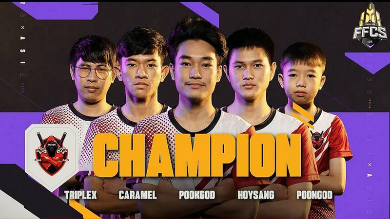 free fire championship 2020, poongod, exp esports