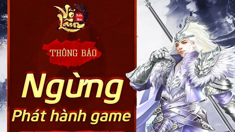 game mobile, gamota, game ios, game android, võ lâm trấn bảo, võ lâm trấn bảo ngừng phát hành