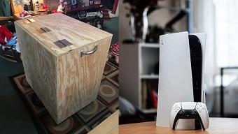 """Bị vợ cấm đoán, nam game thủ chế """"trạm chơi game di động"""" để đưa PS5 đến tận cùng thế giới"""