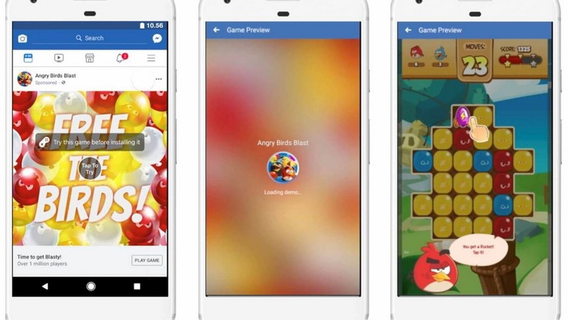 facebook, game miễn phí, nghiên cứu, thói quen chơi game trên thiết bị di động, game hỗ trợ quảng cáo