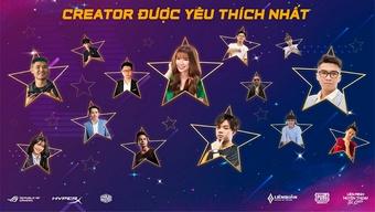 ONCA – Giải thưởng chuyên biệt cho Streamer Việt gọi tên song đấu Nam Blue - Bác Gấu
