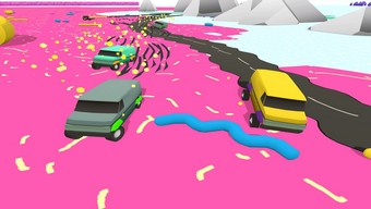 RallyAllyAlly: Game đua xe với gameplay độc đáo trên di động