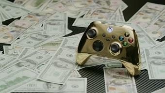 Lộ diện tay cầm Xbox đắt giá nhất thế giới, được làm từ vàng 18k