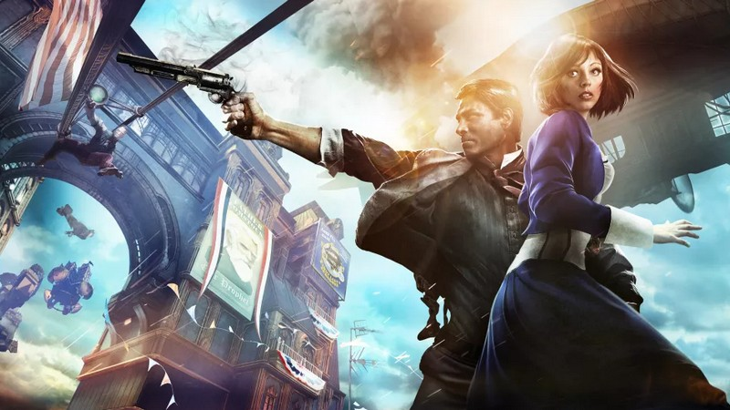 unreal engine 4, bioshock, 2k games, thế giới mở, cloud chamber