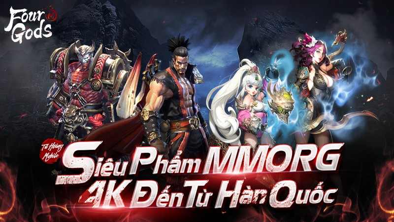 game mobile, game ios, game android, four gods m, tứ hoàng mobile, tải tứ hoàng mobile, hướng dẫn tứ hoàng mobile, cộng đồng tứ hoàng mobile