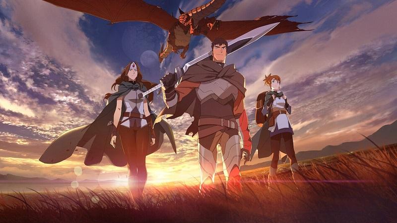 anime, moba, dota, valve, dota 2, game pc/console, netflix, phim hoạt hình, moba 2021, game pc/console 2021, phim hoạt hình 2021, anime 2021, dota: dragon's blood, dota: dragon's blood 2