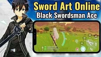 MMORPG Sword Art Online Black Swordsman: Ace hẹn ngày mở cửa thử nghiệm