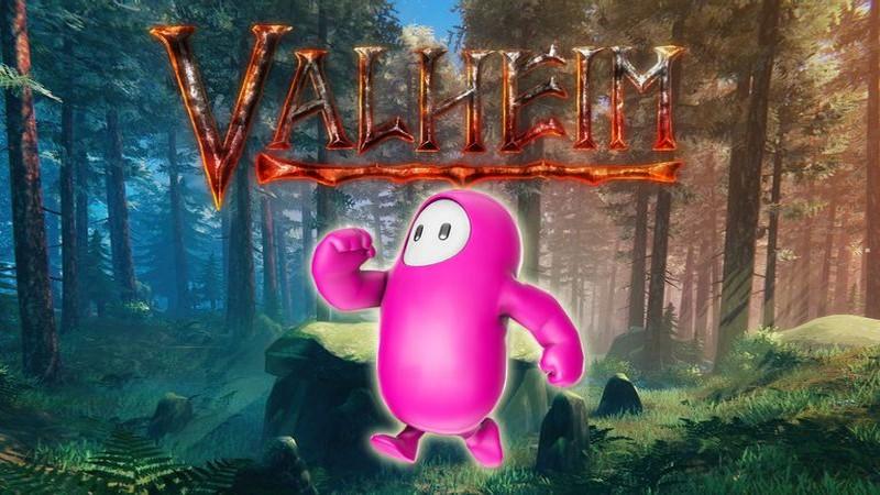 fall guys, valheim