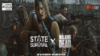 the walking dead, zombie, daryl dixon, state of survival, tải state of survival, hướng dẫn state of survival, cộng đồng state of survival