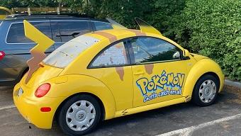 Ngỡ ngàng với hình ảnh ngoài đời thật của xe Pikachu siêu hiếm