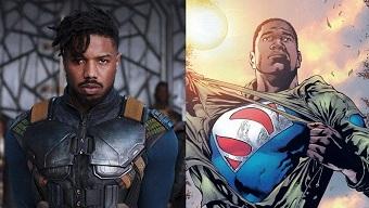 Thêm một phim Superman da màu được sản xuất, phản diện Black Panther cầm trịch