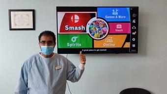 game thủ, nintendo switch, nha sỹ, nha khoa, super smash bros ultimate