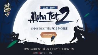 Nhất Mộng Giang Hồ VNG mở Alpha Test 2, hoàn trả 150% tiền nạp