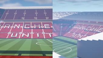 """Fan MU phải thốt lên """"U là trời"""" trước SVĐ Old Trafford được game thủ Việt xây dựng trong Minecraft"""
