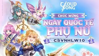 """Game thủ Cloud Song VNG """"đua nhau"""" gửi lời chúc đến một nửa thế giới nhân ngày 20/10"""
